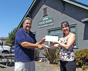 Windermere Food Bank Donation