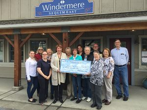 Windermere donates to Sequim Free Clinic