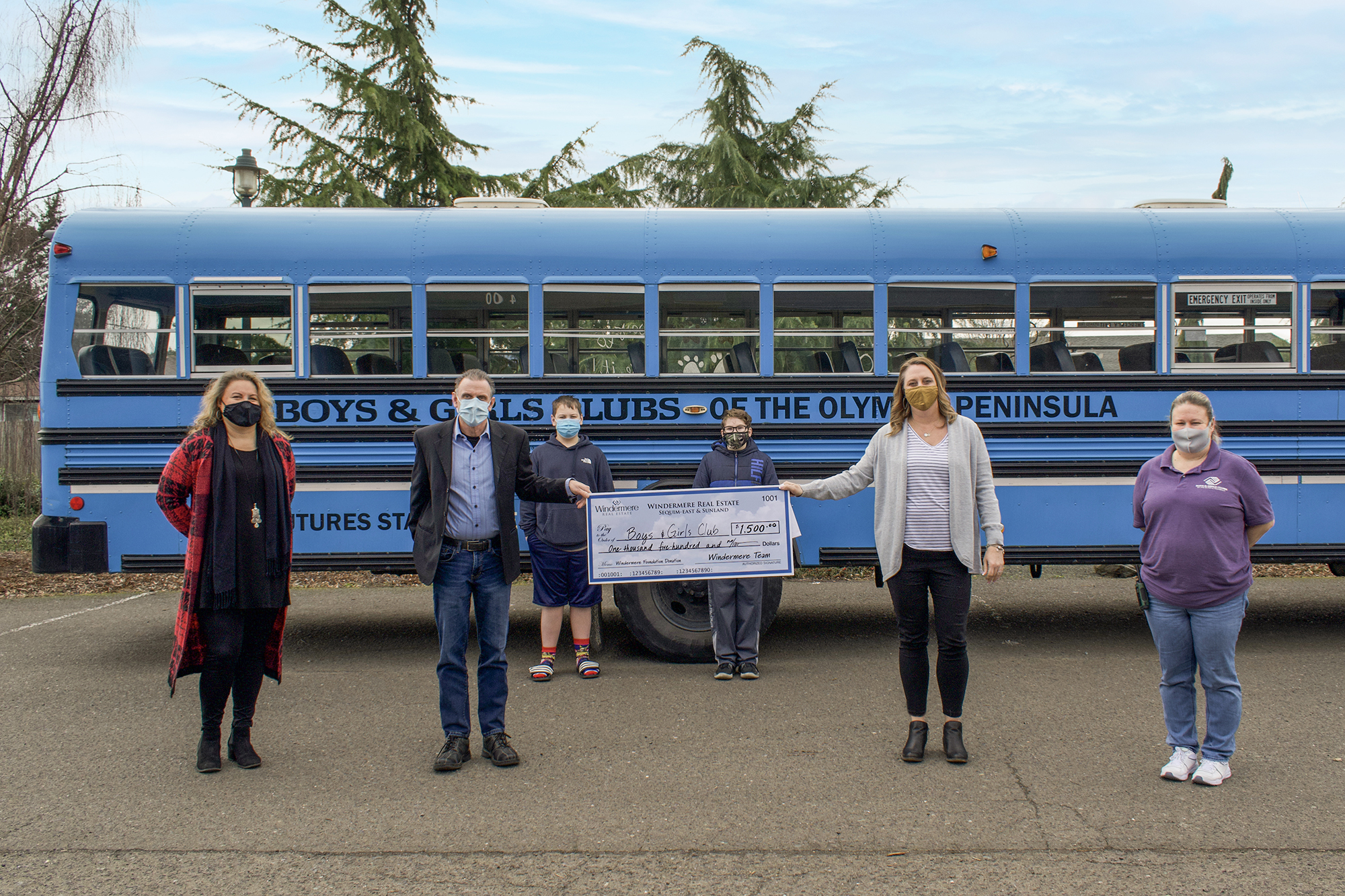 Windermere Donation to Boys Girls Club 2021